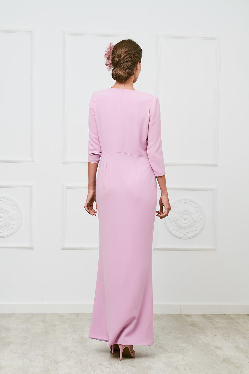 Blume- Mauve dress