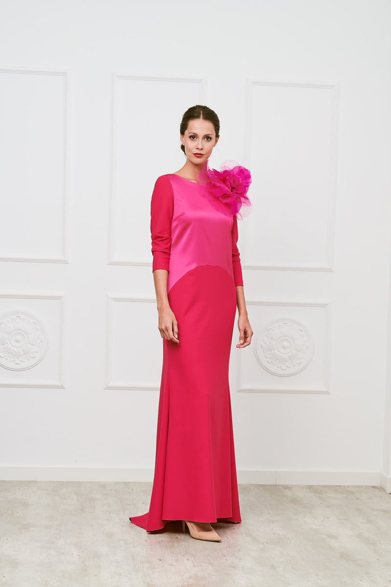 Borsai dress - Fuxia