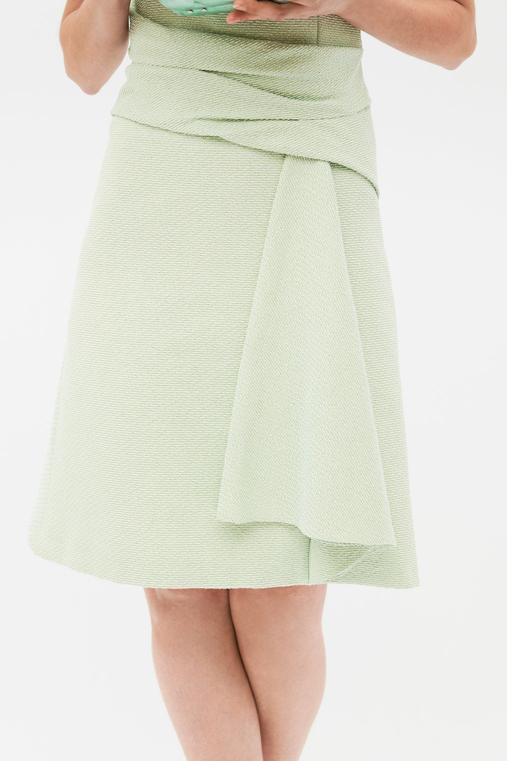 Lossan dress - lime green