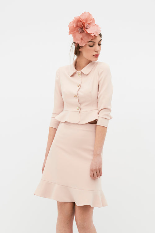 May Skirt - Nude Pink