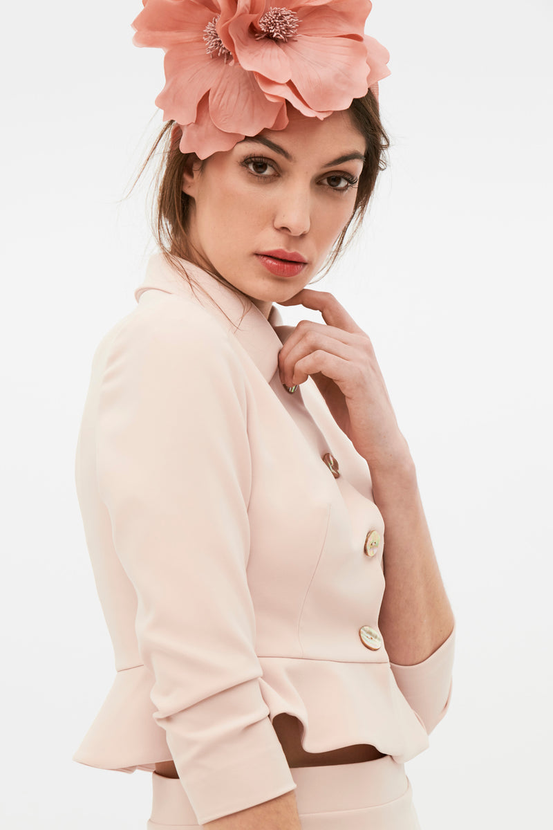 May Jacket - Nude Pink