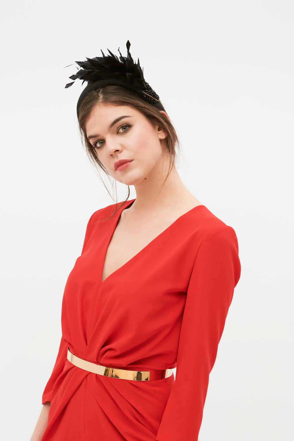 Petit Blume Dress - Red
