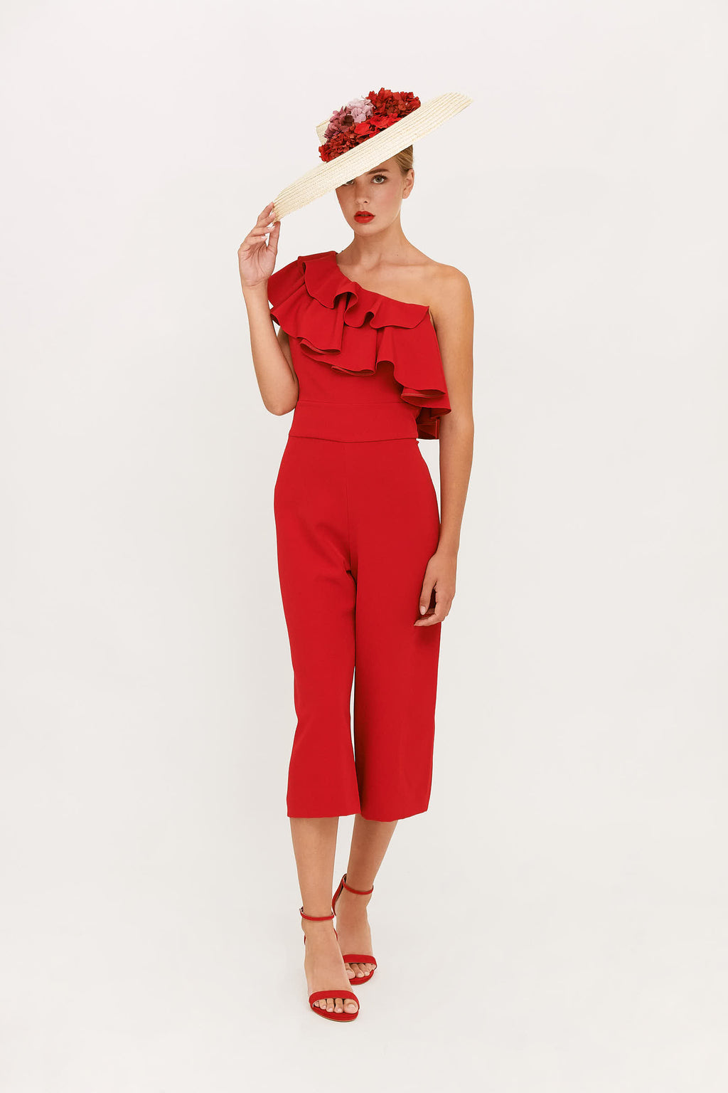 Paola Jumpsuit - Red