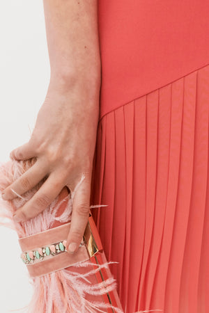 Lesbos Clutch - Pink Nude