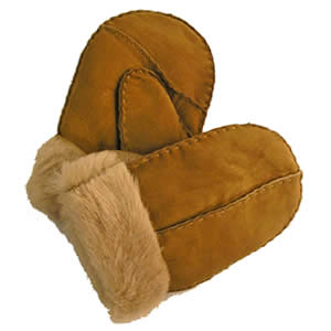 Childrens Sheepskin Mitts