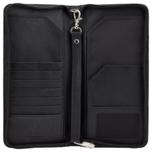 Load image into Gallery viewer, Visconti Travel Wallet Ziparound - 1157