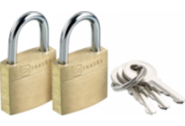 2 Pack Luggage Lock