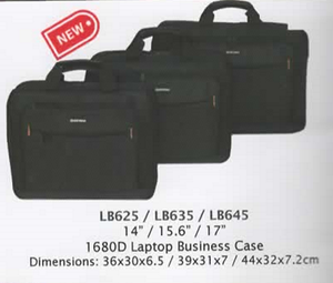 "Laptop Bags Sizes 14"" 15.6"" & 17"""