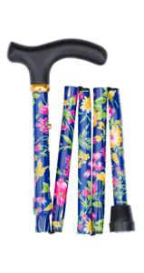 Folding Handbag Size Walking Stick 4831