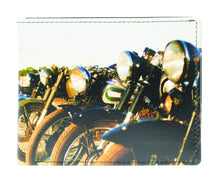 Load image into Gallery viewer, 7-963 Multi Bikes wallet
