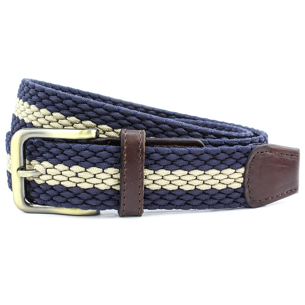 Elastic Stripe  Belt 3 colours
