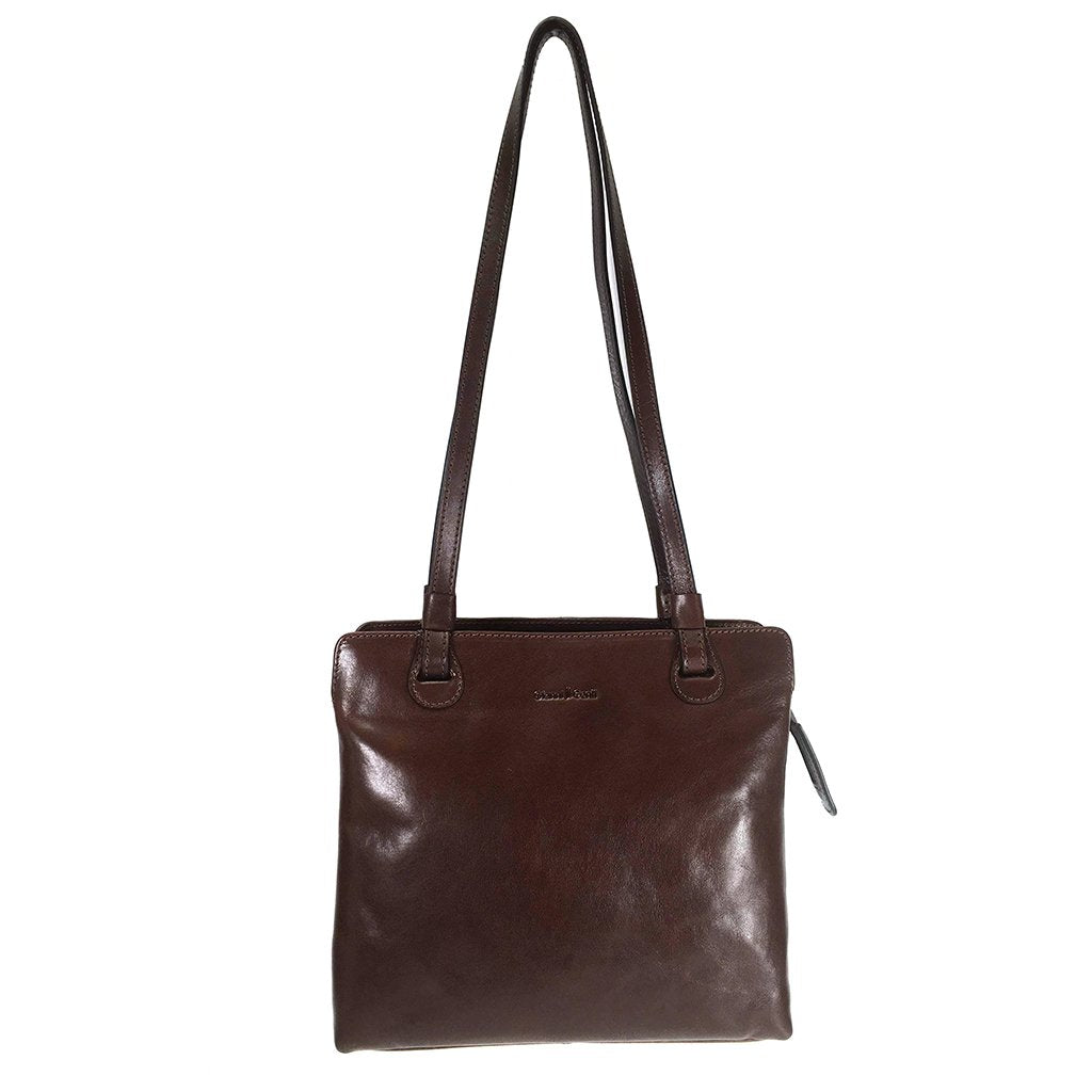 Gianni Conti 9403660 Leather Shoulder Bag