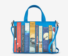 Load image into Gallery viewer, Yoshi Y26 Bookworm Cobalt Blue Picture Handbag