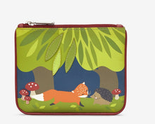 Load image into Gallery viewer, Yoshi Fox And Hedgehog Picture Purse