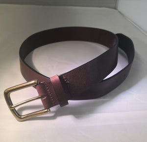 Naseby 35mm solid Leather Belt 2 colours