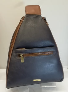 Vintage 897 Leather Backpack.