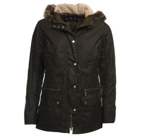 Barbour Ladies Waxed Kelsall Waxed Parka