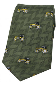 Country  Tractor Silk tie