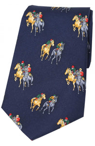 Country Furlong Silk Tie