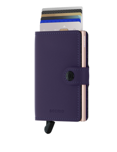 Secrid Matte Purple Rose Miniwallet