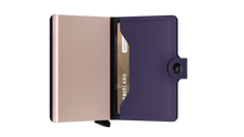 Load image into Gallery viewer, Secrid Matte Purple Rose Miniwallet