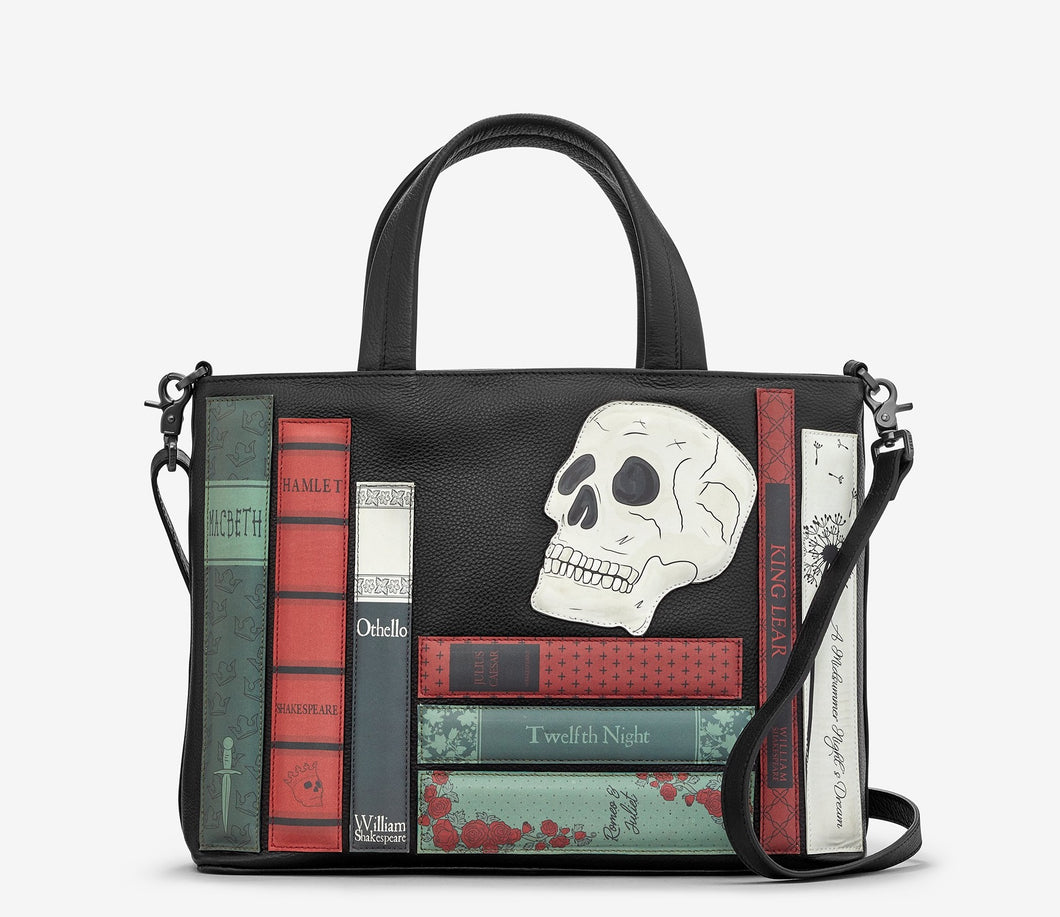 Yoshi Shakespeare Bookworm Picture Handbag