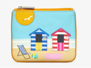 Yoshi Beach Hut Picture Purse