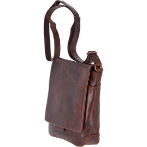 Ashwood Leather Adam Leather Messenger Bag