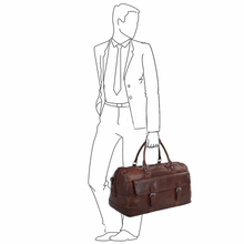 Load image into Gallery viewer, Ashwood Francis Leather Holdall