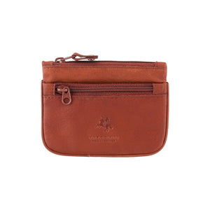 Visconti Leather Coin Purse