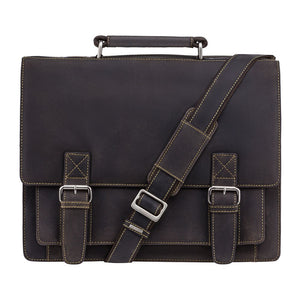 Visconti Hercules - Large Leather Briefcase