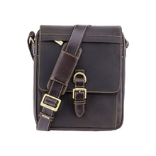 Load image into Gallery viewer, Visconti Link Leather Messenger Bag - A5