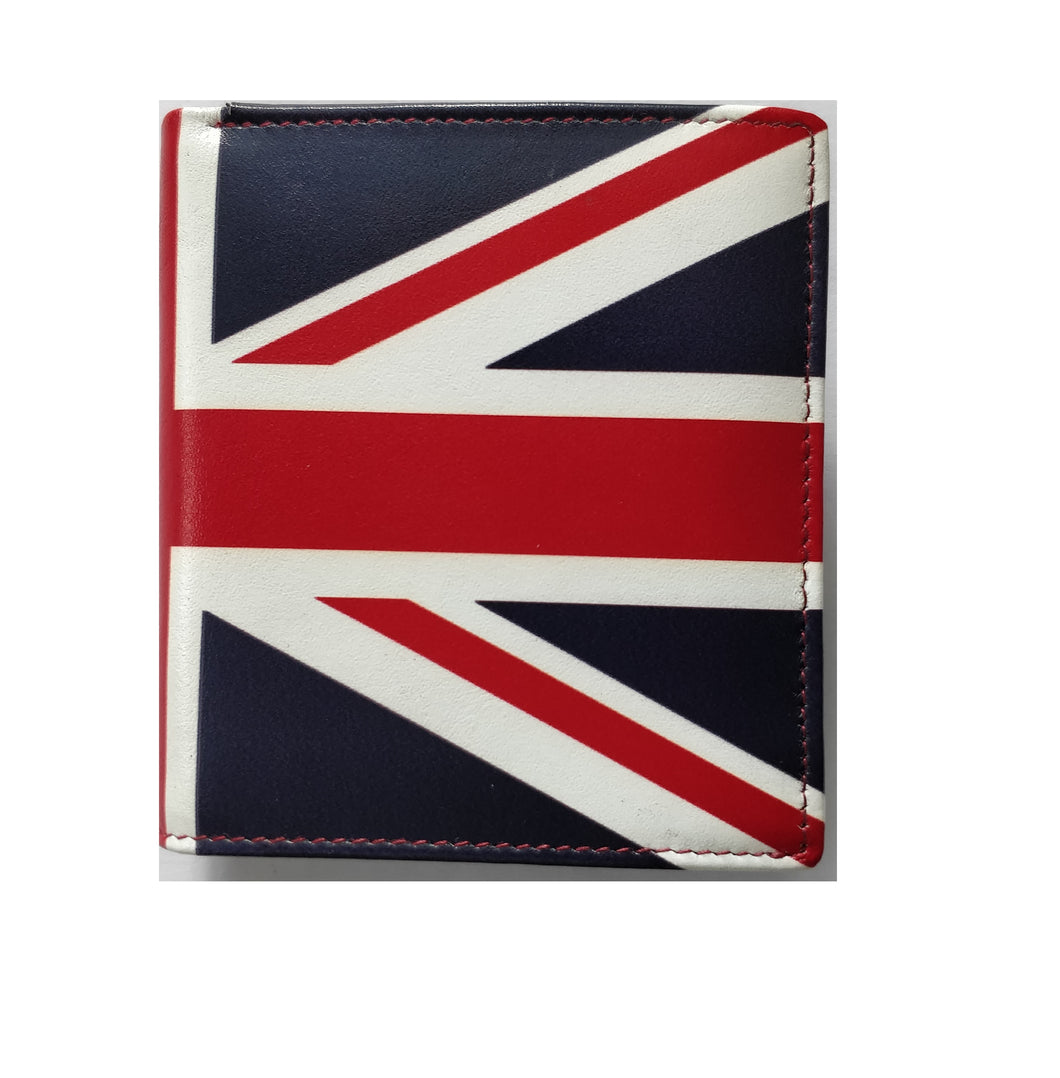 7-541A Union Jack Wallet With Coin Pouch