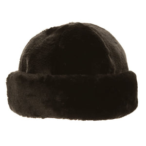 Ladies Faux Fur Cloche Hat