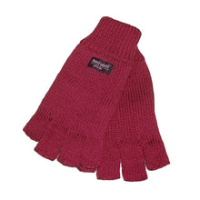 Load image into Gallery viewer, Womens Thinsulate Fingerless Gloves
