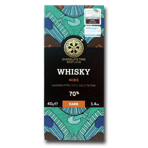 Whisky Nibs 70% (40g)