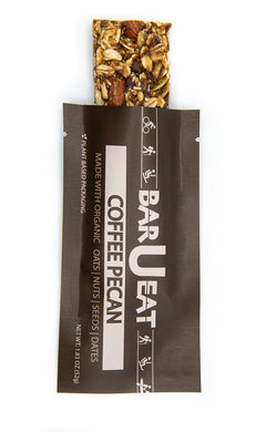 barueat coffee pecan granola bar