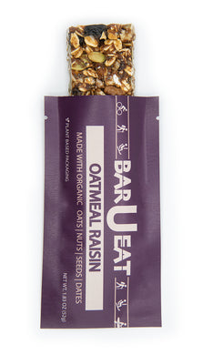 barueat oatmeal raisin granola bar