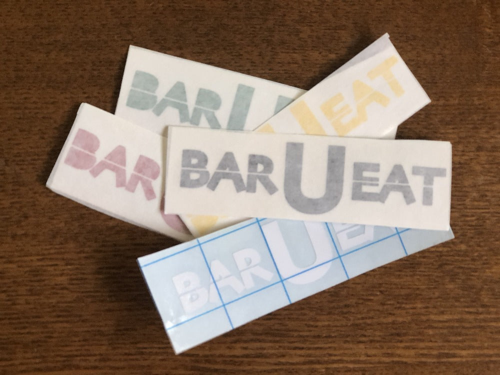 BAR-U-EAT Vinyl Sticker