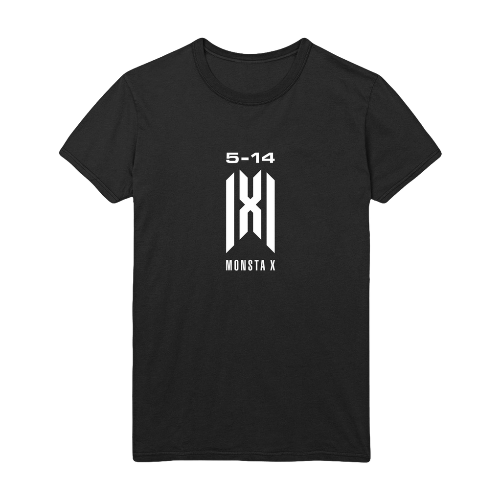 Monsta X 5.14 Anniversary Tee - Black-Monsta X