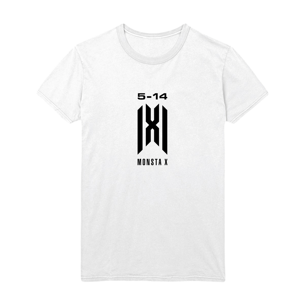 Monsta X 5.14 Anniversary Tee - White-Monsta X