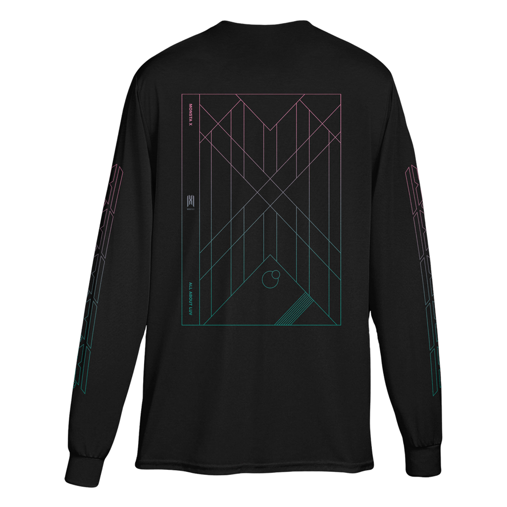 Monsta X Grid Longsleeve-Monsta X
