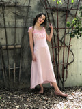 This Silk Pale Pink Dress is A Beauty