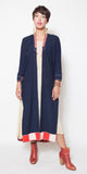 Indigo Long Vietnamese Coat
