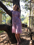 Summer Farmers Market Romantic Dress