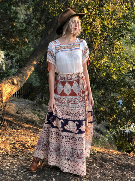 This Is My Favorite Indian Wrap Skirt Ever