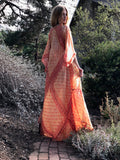 This is My Very Best Silk 70s Indian Dress