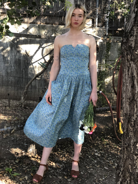 Favorite French Country Cotton Dress