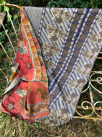 Kantha Reversible Throw