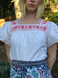 Hungarian Cotton Farmers Market Blouse